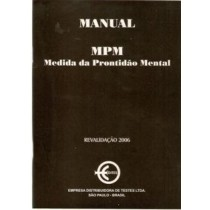 MPM - MEDIDA DA PRONTIDAO MENTAL - KIT