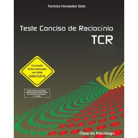 Tcr - teste conciso de raciocinio - kit